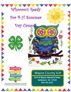 Cover photo for COMING SOON!! 4-H Summer Day Camps