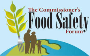 Commissioner's Food Safety Forum logo
