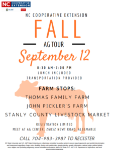 Cover photo for 2019 Fall Ag Tour